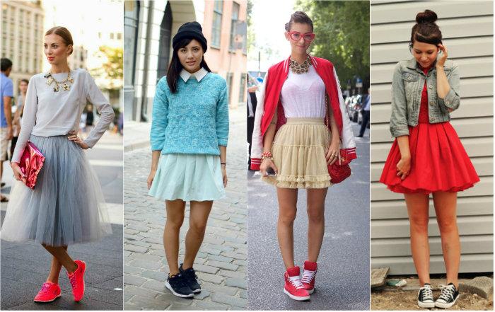 Одежда, характерная для спортивного стиля